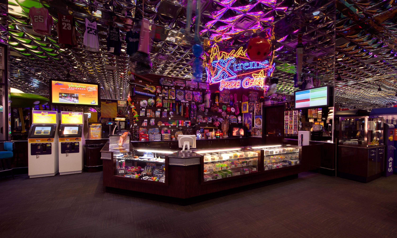 arcade hall